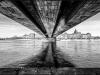 3eme prix NetB-Claude PREDAL Pont sur l'Elbe a Dresde